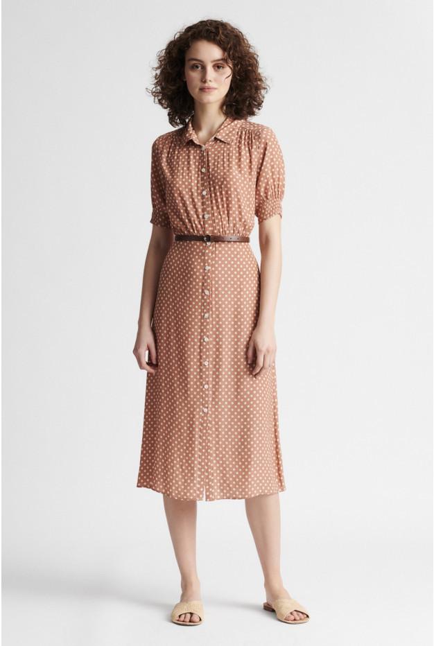 SPERANZA - Платье-рубашка из крепа