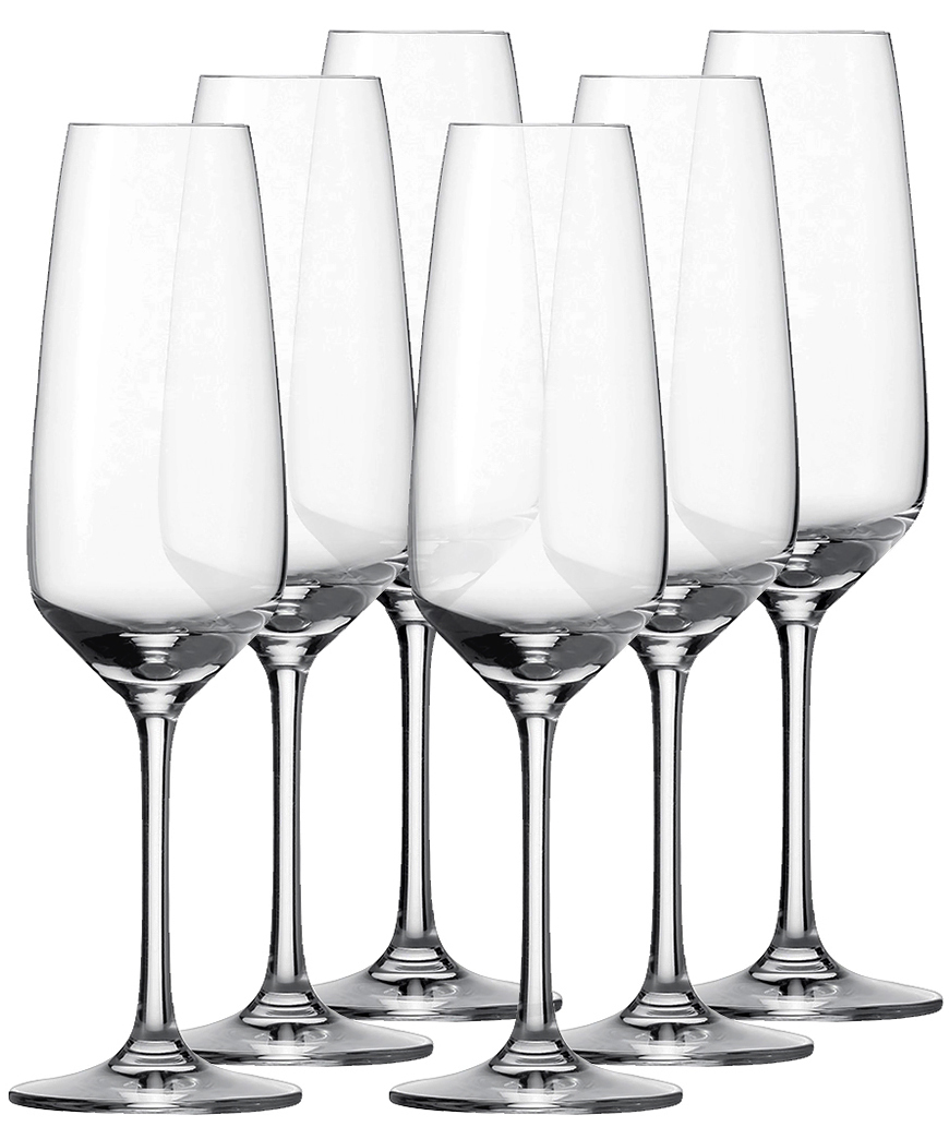 Набор фужеров для шампанского «Taste», 283 мл,