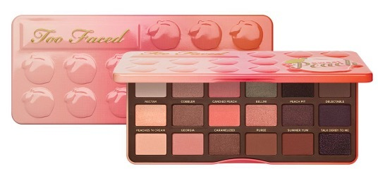 Too Faced Sweet Peach Eyeshadow Palette палетка теней