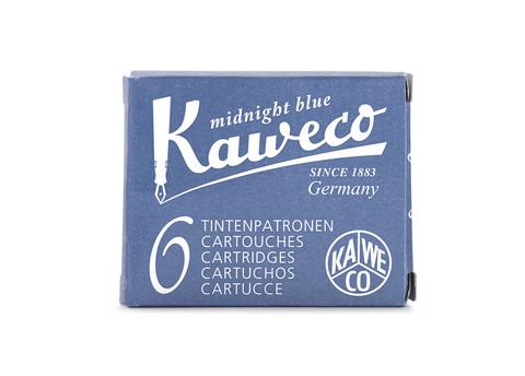 Набор картриджей тёмно-синий 6 штук в картонной упаковке