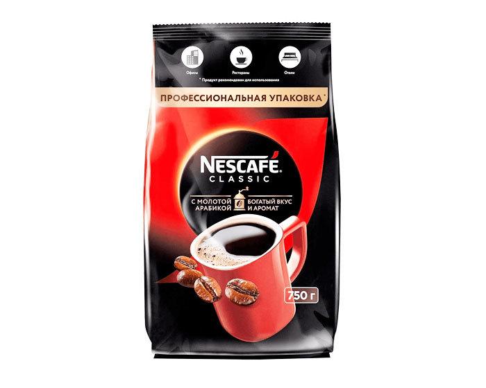 купить Кофе растворимый Nescafe Classic, 750 г