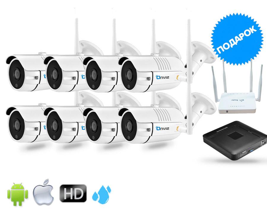 Комплекты видеонаблюдения (IP Wi-Fi камеры 2020 года) Комплект из 8-ми Уличных Wi-Fi  камер глав8.jpg
