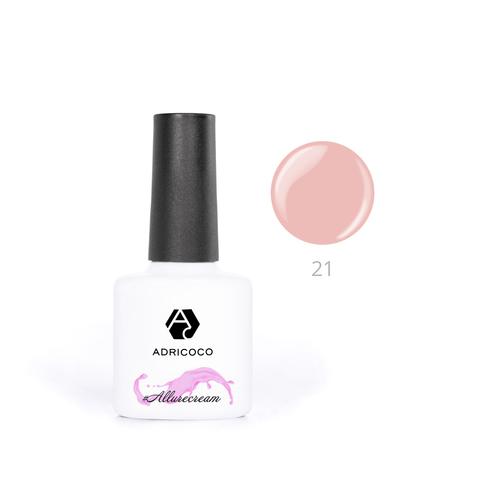 Гель-лак ADRICOCO Est Naturelle №21 камуфлирующий персиково-розовый (8 мл.)