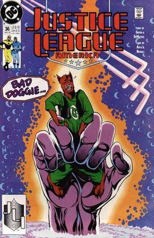 Justice League America #36