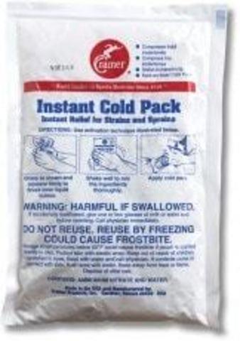 мгновенный хлад пакет одноразовый Cramer Instant Cold Pack 15см х 22см
