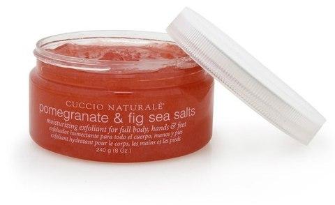 Морская соль (скраб) для СПА-ухода за кожей рук и тела на основе экстракта граната и инжира 240 г
