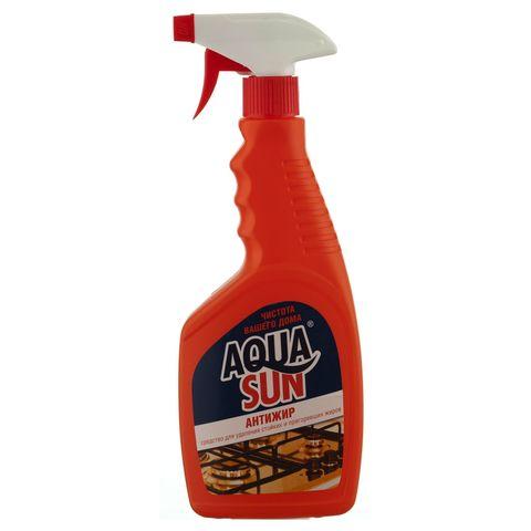 Aquasun Средство чистящее щелочное «Антижир» 500 мл