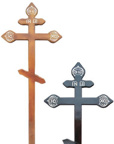 Деревянный крест на могилу сосновый