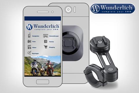 SP-Connect универсальный комплект крепления смартфона Moto Bundle  - черный