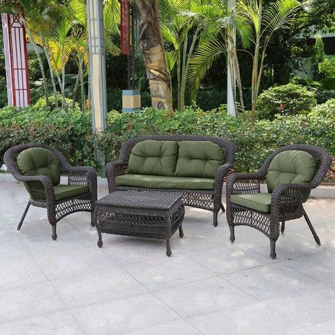 Комплект мебели  LV520BG Green 2+1+1