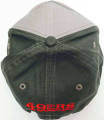 Серая кепка San Francisco 49ers NFL Vintage collection Gray