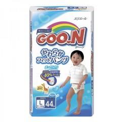 """Трусики-подгузники """"Goon"""" японские для мальчиков размер L (вес 9-14кг) 44шт"""