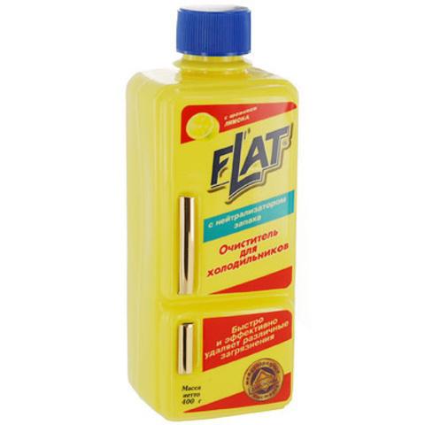Очиститель для холодильников Flat с ароматом лимона