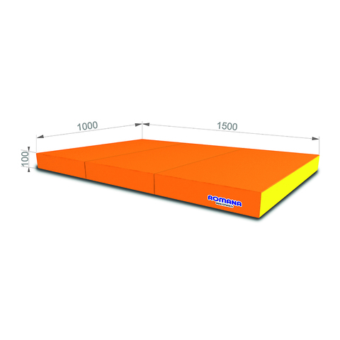 РОМАНА Мягкий щит (Мат) 1000*1500*100, в 3 сложения