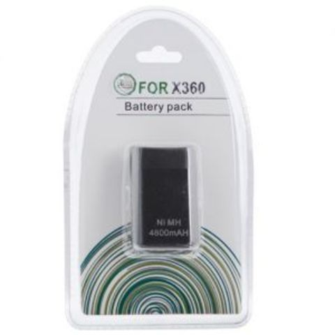 Xbox 360 Slim Battery pack 4800mAH Black