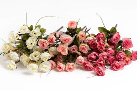 Мелкоцветные розы.