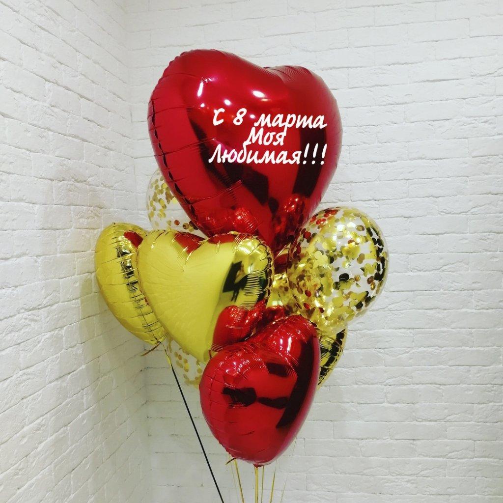 Шарики 8 марта Композиция шаров на 8 Марта на__марта_6.jpg