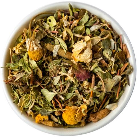Травяной чай с чербецом и ромашкой