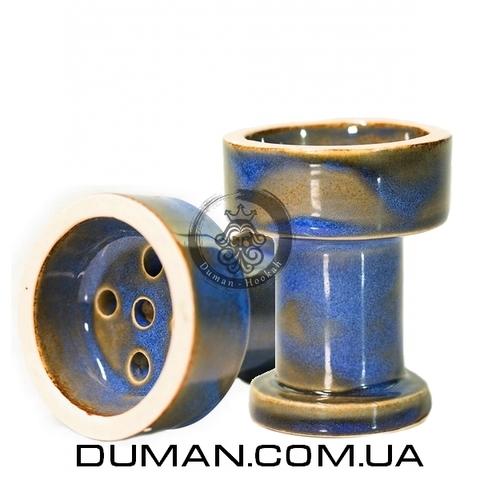 Чаша Gusto Bowls Rook Glaze II (Густо Болс Рук) Синий с зеленым