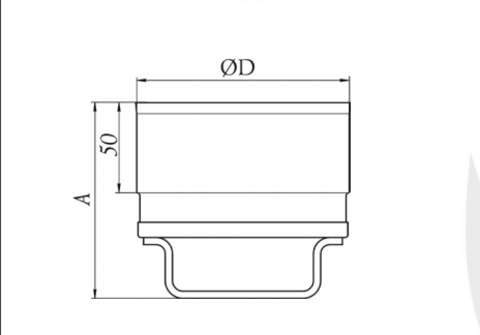 Заглушка, Ø120 мм