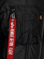 Парка Alpha Industries N-3B Reverb Parka Black (Черная)