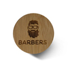Щётка для бороды Barbers Round Beard Brush (5)