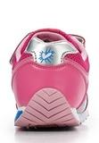 Кроссовки Винкс (Winx) на липучке и шнурках для девочек, цвет розовый, фея Блум. Изображение 3 из 8.