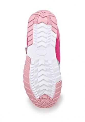 Кроссовки Винкс (Winx) на липучке и шнурках для девочек, цвет розовый, фея Блум. Изображение 4 из 8.