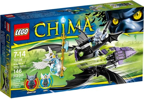 LEGO Chima: Крылатый истребитель Браптора 70128 — Braptor's Wing Striker — Лего Чима