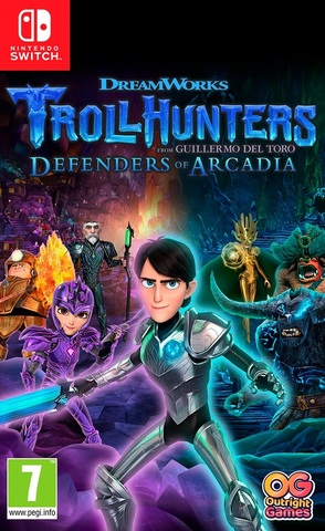TROLLHUNTERS: Defenders of Arcadia (Nintendo Switch, русские субтитры)