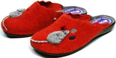 Модные домашние тапочки женские Inblu NC- 1B Mouse Rad