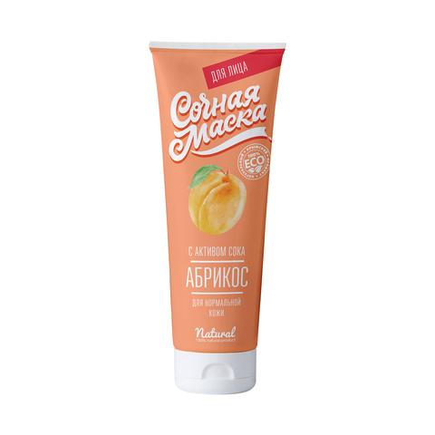 МДП Натуральная сочная маска Абрикос для нормальной кожи, 150г