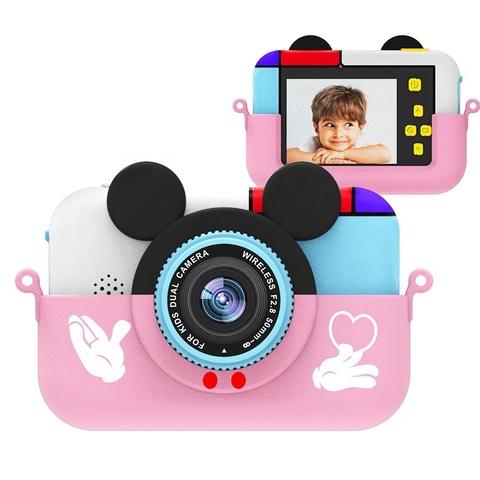 Детский фотоаппарат SmileZoom Микки Розовый