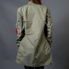 Куртка Alpha Industries L-2B Long W Sage Green (Зеленая)