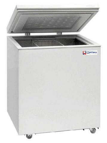 Ларь морозильный  OPTIMA 250B PRIME  (глухая крышка) (757х665х814h, кВт.ч./сут1,0)