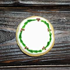 Печенье новогоднее