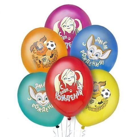 Воздушные шары Барбоскины