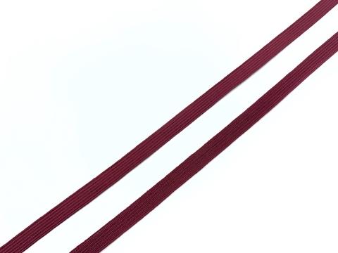 Резинка отделочная бордо 6 мм