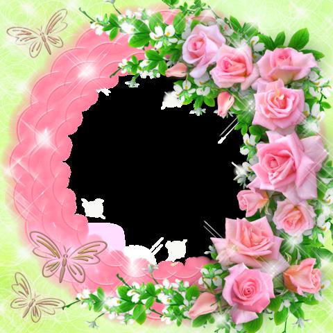 Печать на сахарной бумаге, Цветы 3