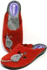 Домашние шлепанцы женские Inblu NC- 1B Mouse Rad