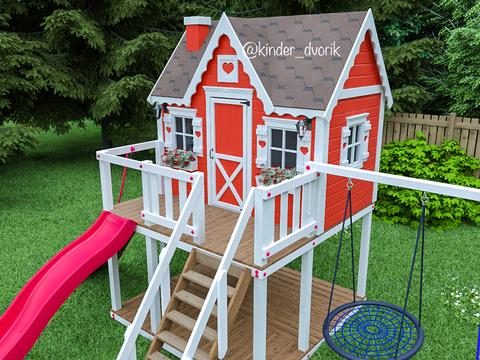 детские домики для игр