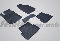 Резиновые коврики CHEVROLET COBALT высокий борт