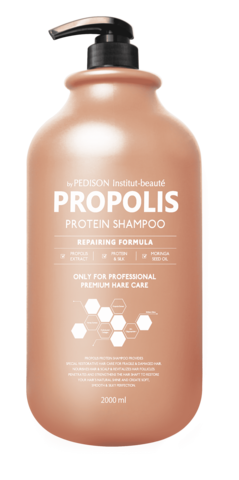 EVAS Pedison Шампунь для волос ПРОПОЛИС Institut-Beaute Propolis Protein Shampoo