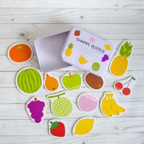 Пазл фрукты