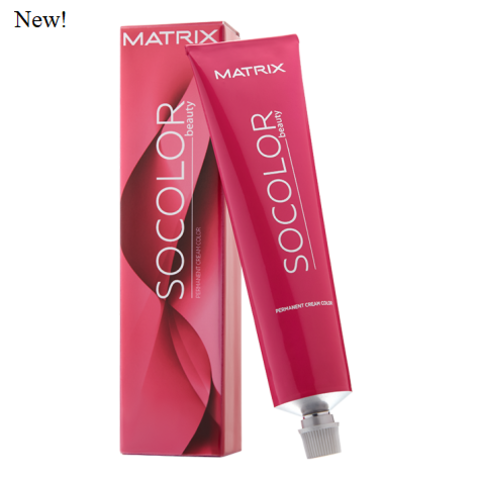 Matrix socolor beauty перманентный краситель для волос, шатен мокка пепельный 4MA