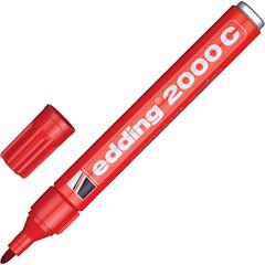 Маркер перманентный Edding E-2000C/2 красный (толщина линии 1.5-3 мм)