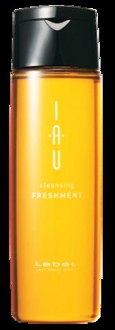 Охлаждающий аромашампунь для жирной кожи головы IAU cleansing FRESHMEN, 200 мл.