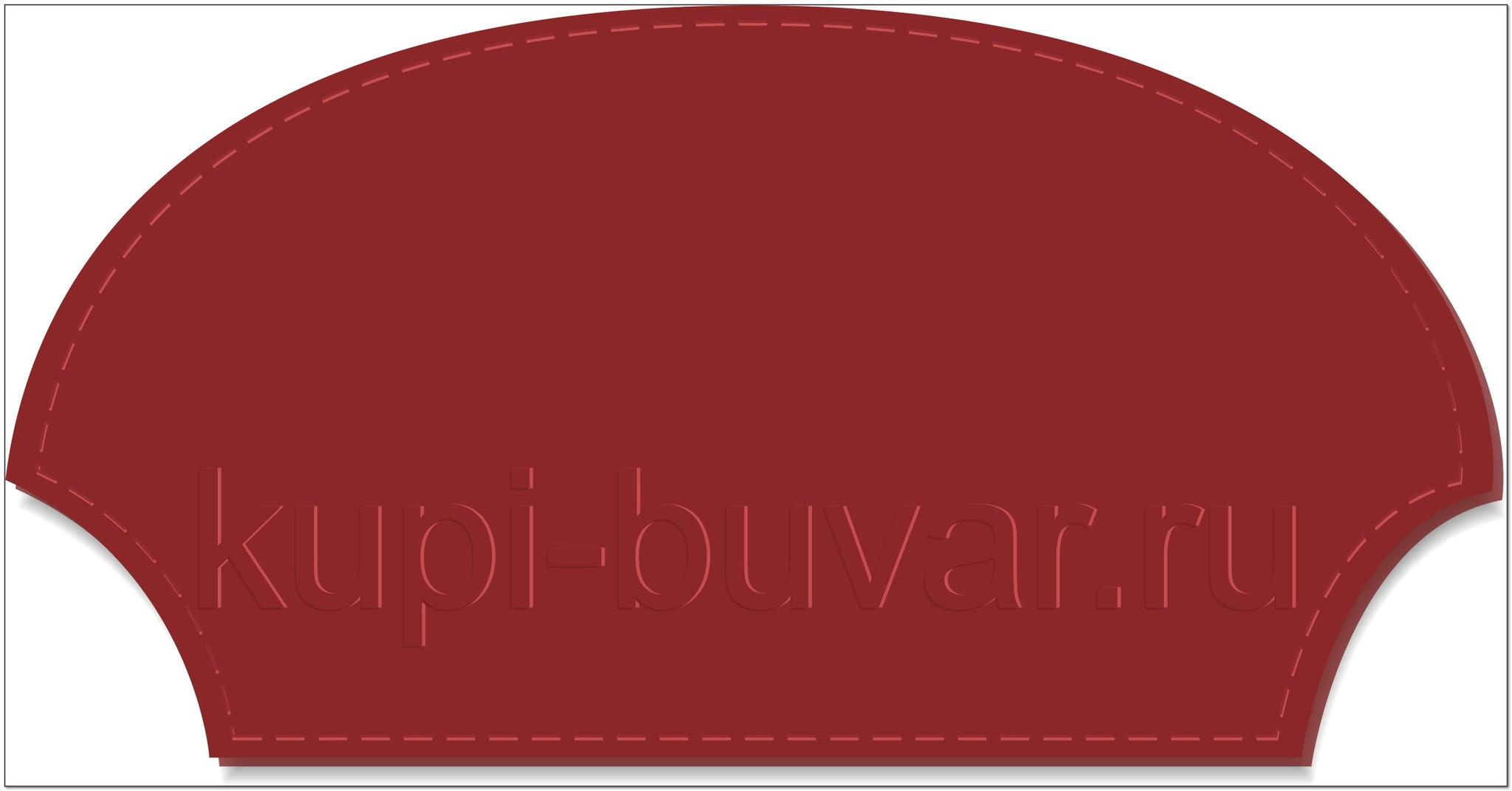 кожаный бювар - подложка на стол Римини-13
