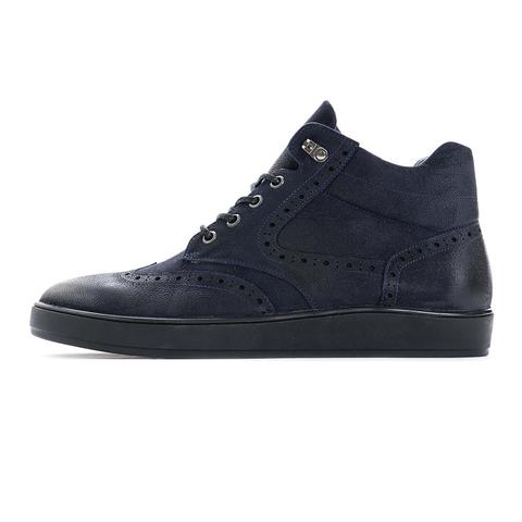 Зимние ботинки на натуральном меху vorsh v920nm син нубук купить