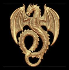Силиконовый молд Рама Драконы  + элемент дракон в подарок